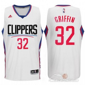 Maglie Shop Griffi Los Angeles Clippers Bianco