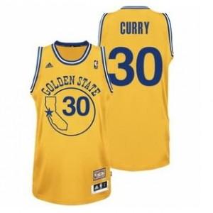 Canotte NBA Rivoluzione 30 Curry Golden State Warriors Giallo