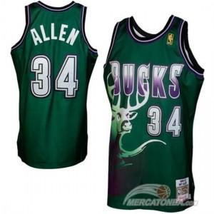 Canotte NBA Rivoluzione 30 Parker Milwaukee Bucks Verde