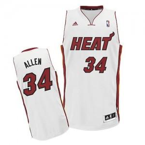 Canotte NBA Rivoluzione 30 Allen Miami Heats Bianco