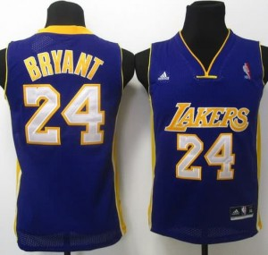 Maglie Bambini Bryant Los Angeles Lakers Porpora