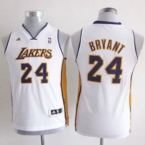 Maglie Bambini Bryant Los Angeles Lakers Bianco