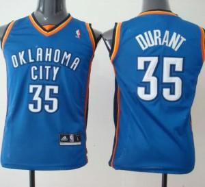 Maglie Bambini Durant Oklahoma City Thunder Blu