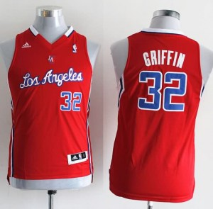 Maglie Bambini Griffi Los Angeles Clippers Rosso