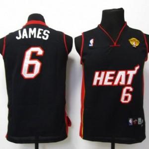 Maglie Bambini James Miami Heats Nero