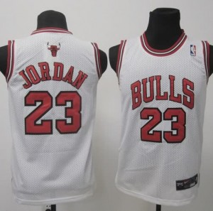 Maglie NBA Bambini Jordan Chicago Bulls Bianco