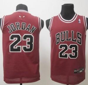 Maglie NBA Bambini Jordan Chicago Bulls Rosso