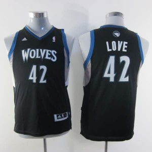 Maglie NBA Bambini Love Minnesota Timberwolves Nero