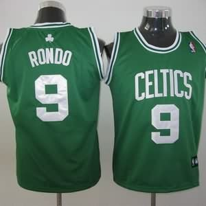 Maglie NBA Bambini Rondo Boston Celtics Verde