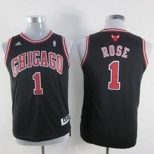 Maglie NBA Bambini Rose Chicago Bulls Nero