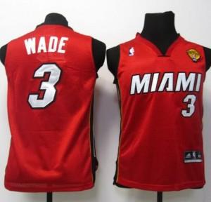 Maglie NBA Bambini Wade Miami Heats Rosso