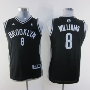 Maglie NBA Bambini Williams Brooklyn Nets Nero