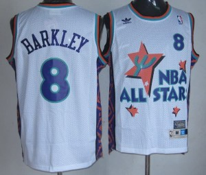 Canotte NBA Barkley All Star 1995 Bianco