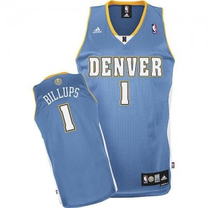 Maglie Shop Billups Denver Nuggets Blu