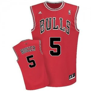 Maglie Shop Boozer Chicago Bulls Rosso
