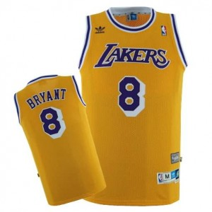 Maglie Shop Bryant Los Angeles Lakers Giallo