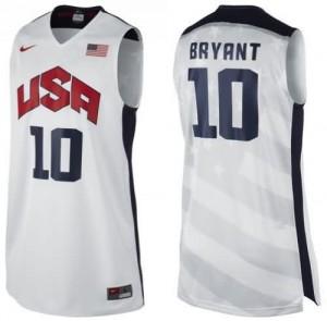 Canotte Bryant USA 2012 Bianco