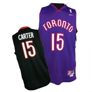 Maglie NBA Carter Toronto Raptors Nero Porpora