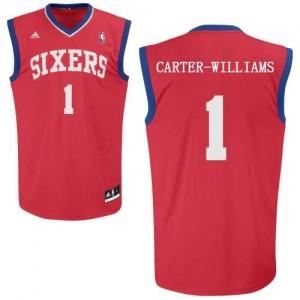 Maglie Shop Carter Williams Philadelphia 76ers Rosso
