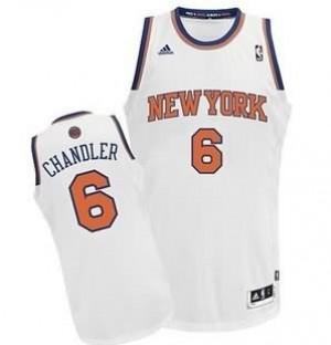 Canotte NBA Rivoluzione 30 Chandler New York Knicks Bianco