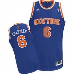Canotte NBA Rivoluzione 30 Chandler New York Knicks Blu