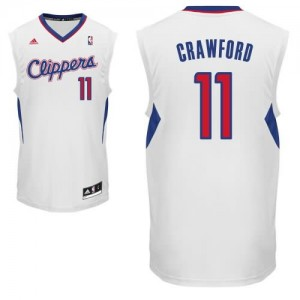 Canotte NBA Rivoluzione 30 Crawford Los Angeles Clippers Bianco