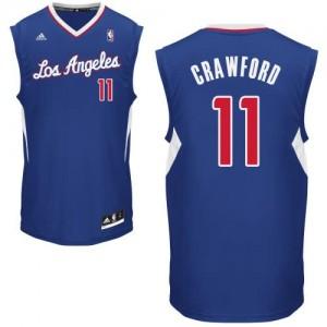 Canotte NBA Rivoluzione 30 Crawford Los Angeles Clippers Blu
