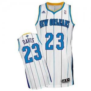 Canotte NBA Rivoluzione 30 Davis Charlotte Hornets Bianco