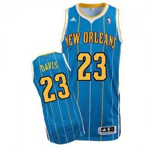 Canotte NBA Rivoluzione 30 Davis Charlotte Hornets Blu