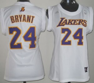 Maglie NBA Donna Bryant Los Angeles Lakers Bianco