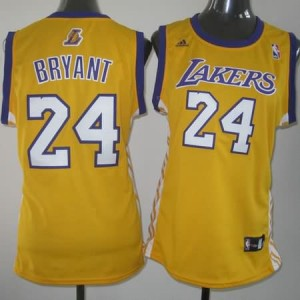 Maglie NBA Donna Bryant Los Angeles Lakers Giallo