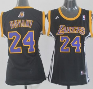 Maglie NBA Donna Bryant Los Angeles Lakers Nero