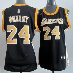 Maglie NBA Donna Bryant Los Angeles Lakers Nero3