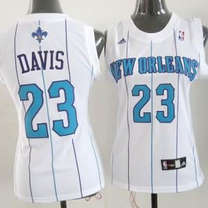 Maglie NBA Donna Davis New Orleans Hornets Bianco