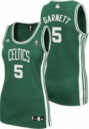 Maglie NBA Donna Garnett Boston Celtics Verde