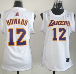 Maglie NBA Donna Howard Los Angeles Lakers Bianco