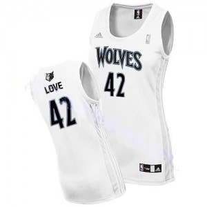 Maglie NBA Donna Love Minnesota Timberwolves Bianco