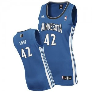 Maglie NBA Donna Love Minnesota Timberwolves Blu