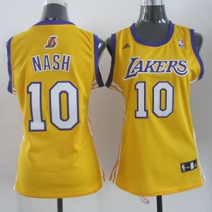 Maglie NBA Donna Nash Los Angeles Lakers Giallo