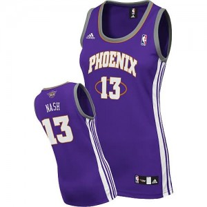 Maglie NBA Donna Nash Los Angeles Lakers Porpora