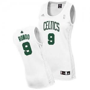 Maglie NBA Donna Rondo Boston Celtics Bianco