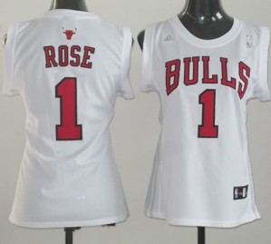 Maglie NBA Donna Rose Chicago Bulls Bianco