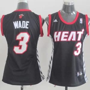 Italia Maglie Donna Wade Miami Heats Nero