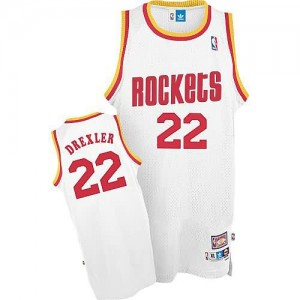 Maglie Shop Drexler Houston Rockets Bianco