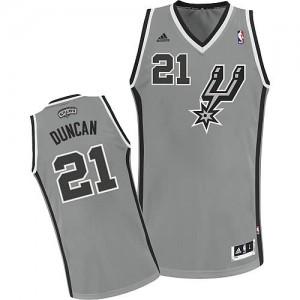 Canotte NBA Rivoluzione 30 Duncan San Antonio Spurs Grigio