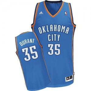 Canotte NBA Rivoluzione 30 Durant Oklahoma City Thunder Blu