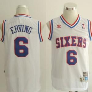 Maglie Basket Erving Philadelphia 76ers Bianco