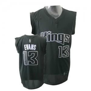 Maglie Basket Evans Sacramento Kings Nero