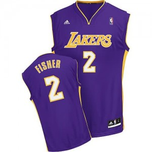 Maglie Shop Fisher Los Angeles Lakers Porpora