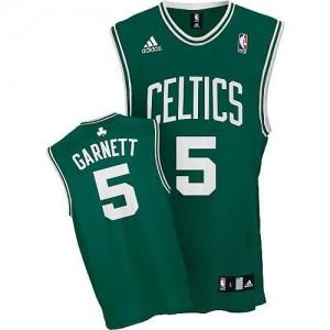 Canotte NBA Rivoluzione 30 Garnett Boston Celtics Verde